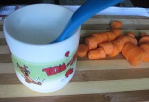 morcov + cana